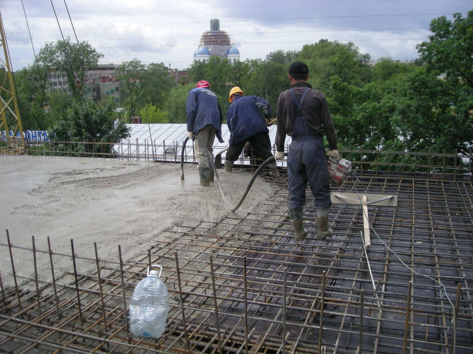 Незагруженный бетон смесь бетонная мелкозернистая смесь тип а